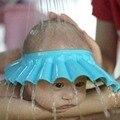 3 цветов детский шампунь cap регулируемая шапочка для душа защитить мягкие шляпа, ребенок и ребенок душ для мытья волос защищает от 0 до 2 лет дети