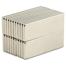 20pcs Strong Block Cuboid Neodymium Magnets Rare Earth Neo N50 30mm x 10mm 2mm