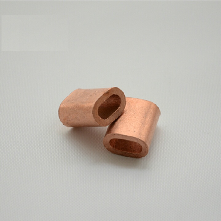 M5 Red Copper Cable Crimp Sleeve Cable Ferrule Stop for Snare Wire ...