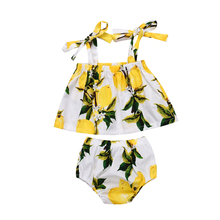 Newborn Baby Girl Floral Crop Top T-shirt Shorts Briefs Outfit Clothes Summer Sunsuits 2018 New Sale new
