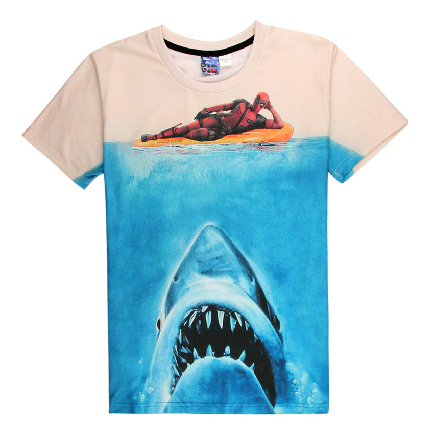 Compare Prices on Great White Shark Shirt- Online Shopping/Buy Low ...