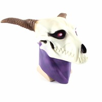 VEVEFHAUNG The Ancient Magus' Bride Elias Ainsworth Mask Horn Latex Cosplay Props