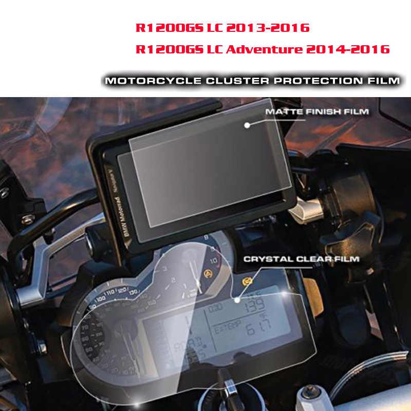 Nowy dla BMW R1200GS LC 2013-2016/LC przygoda 2014 2015 2016 klastra i GPS Navigator ochrona przed zarysowaniem folia ochronna na ekran