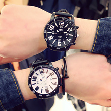 2019 Luxury Brand Quartz Couple Watch For Men Women Lover Wrist Watches Leather Dial Hour Digital Watches Clock Reloj Relojes
