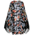 Europa y américa marca primavera otoño clásico prendas de vestir exteriores mujeres trench Desigual bat manga moda sueltos mujeres chal abrigo