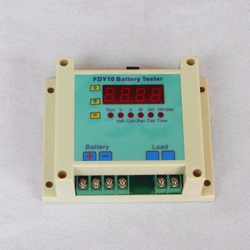 Battery Capacity Tester High Voltage Discharge Meter Electronic Load 1V-60V Battery