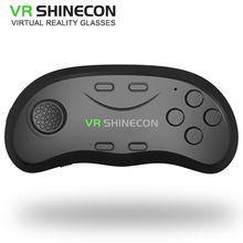 Newest Original brand Bluetooth Remote Controller VRShinecon Wireless Gamepads Mouse Music Selfie 3D Games for iOS Android PC TV