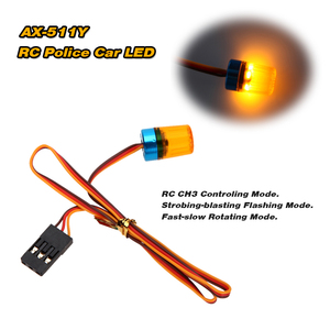 Image 2 - GoolSky AX 511 RC multifunción Circular Ultra brillante RC coche LED parpadeante luz estroboscópica rápido modo giratorio lento