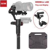 ZHIYUN официальный Weebill лаборатории 3 осевой изображение трансм Камера Стабилизатор Для беззеркальных Камера OLED Дисплей портативный монопод с