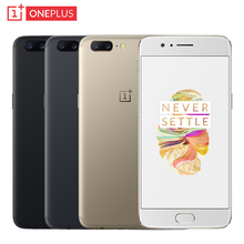 Original OnePlus 5 Cell Phone 5.5″ Screen 6/8GB RAM 64/128GB ROM Snapdragon 835 Octa Core Dual Cameras 16MP+20MP NFC Smartphone