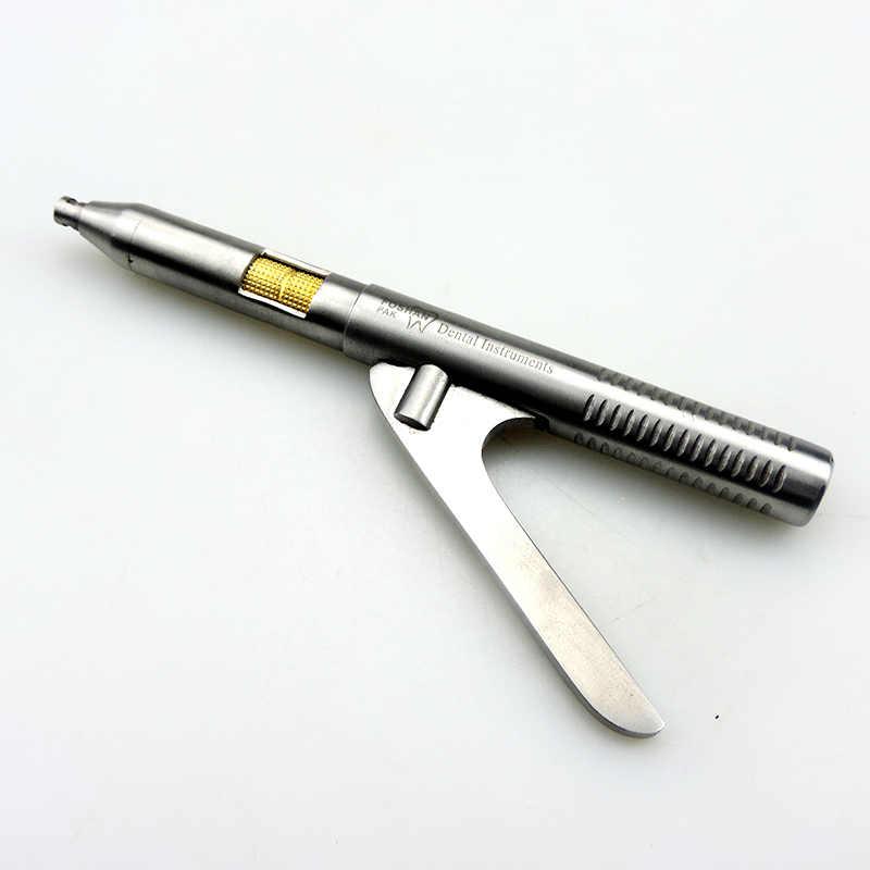 1 Juego de Singlehanded corona removedor acero inoxidable quirúrgico Dental instrumentos herramientas odontología equipos envío gratis