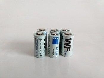 6 uds CR123A 16340 batería de iones de litio 3V Batería primaria de litio