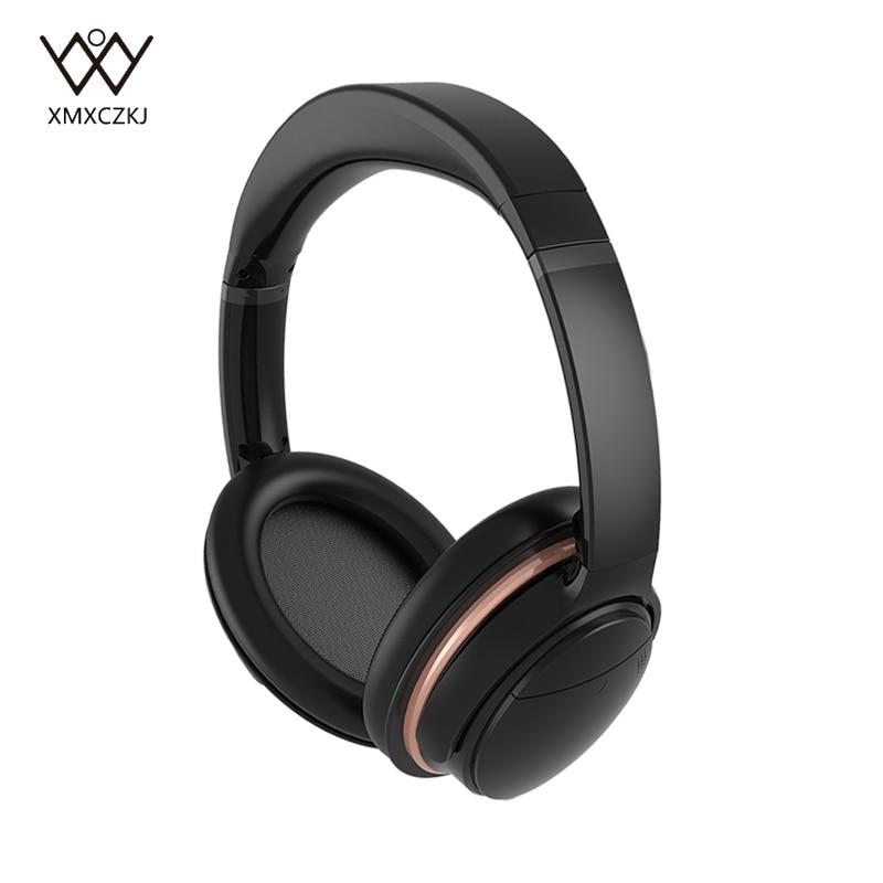 XMXCZKJ auriculares Bluetooth inalámbricos sobre el oído auriculares inalámbricos de cancelación de ruido activos con micrófono para teléfono móvil/tableta-in Auriculares y cascos from Productos electrónicos    1