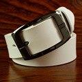 Cinturones de Cuero genuino para Las Mujeres Amplia Cintos Femininos Mujeres Correa de Ceinture de Los Hombres de Moda Cinturón de Cadera