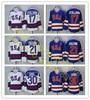 Ice Hockey Jerseys 1980 Miracle On Ice Team USA Jack O Callahan 17 Mike Eruzione 21