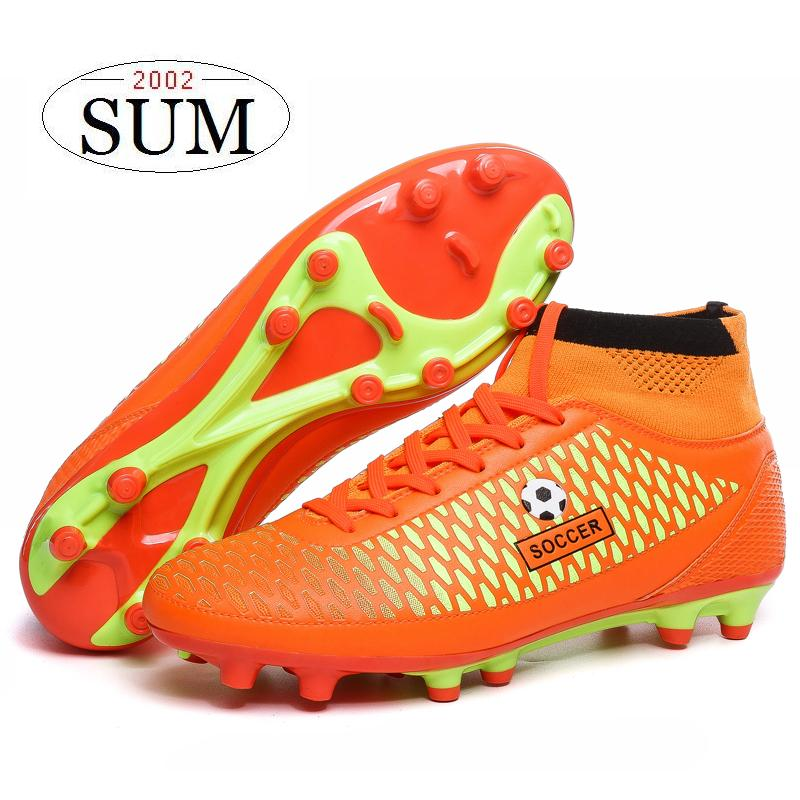 Newest football boots 2017 men soccer shoes superfly AG soccer cleats lawn football  shoes men sneakers botas de futbol-in Soccer Shoes from Sports ...