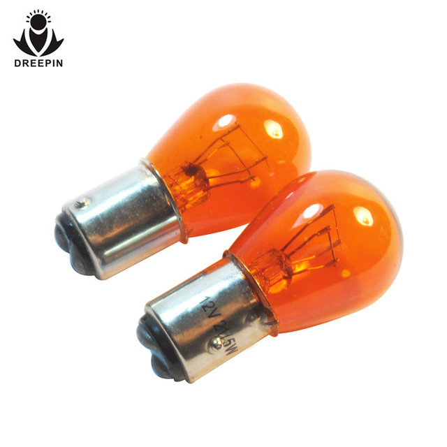 dreepin s25 bay15d p21w 12v 21 5w amber clear car light source brake lights bulb halogen lamp. Black Bedroom Furniture Sets. Home Design Ideas