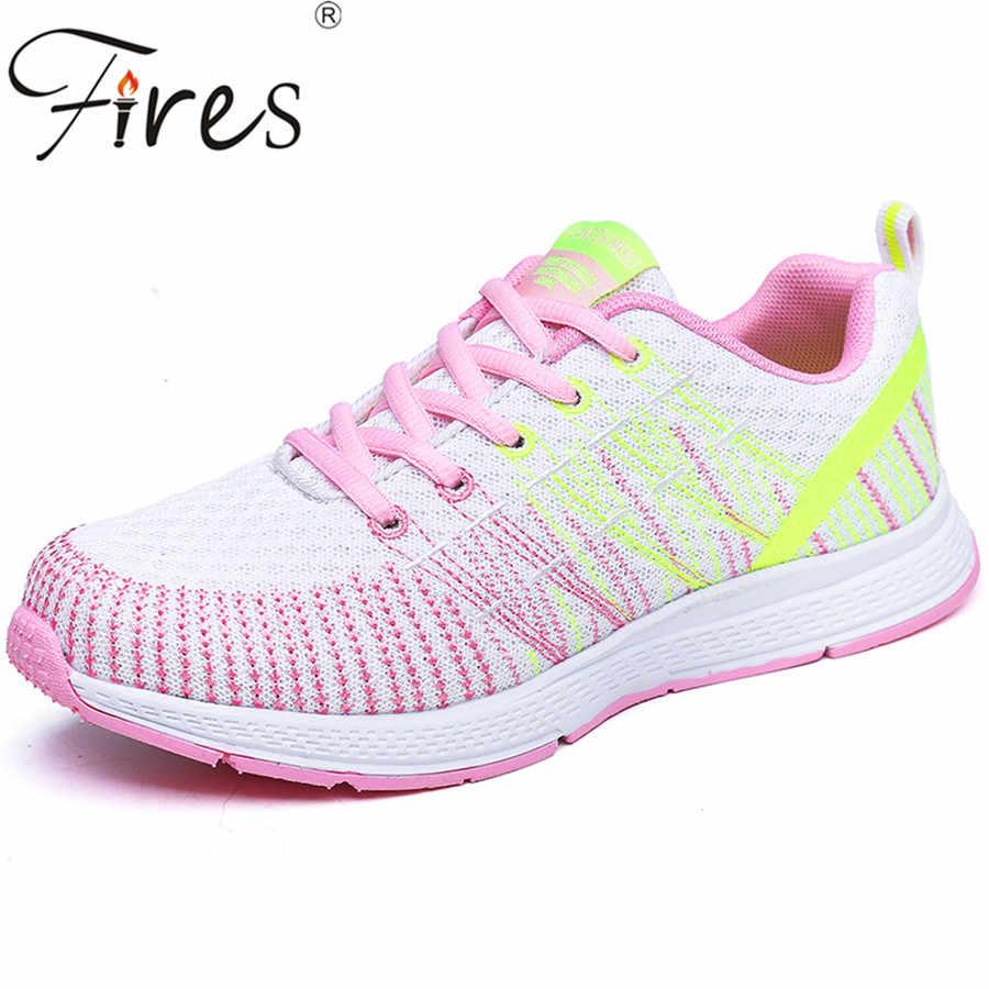 52ed136065c4 Срабатывает тенденция Спортивная обувь Обувь люминесцентные сетки женская  обувь ходить супер легкий летняя спортивная Женские слипоны