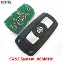 QCONTROL Car Remote Smart Key 868MHz For BMW 1 3 5 7 Series CAS3 X5 X6