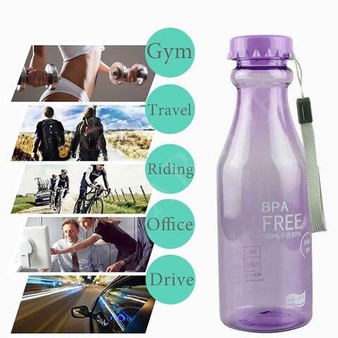 My Running Camping BPA Free Kids Sport Water Bottle For Travel Yoga BPA Free Climbing Adults Creative Bottles in Water Bottles Pakistan
