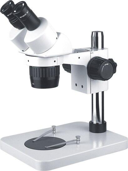 AMDSP Binocular Zoom Stereo Microscope 20X 40X PCB Checking Inspection Microscopes