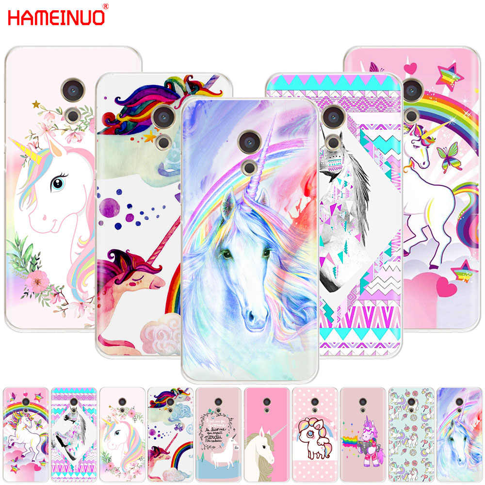 HAMEINUO קשת מקרה טלפון כיסוי Meizu M6 M5 M5S חד קרן יפה M2 M3 M3S MX4 MX5 הערה PRO 6 5 U20 U10 MX6 בתוספת