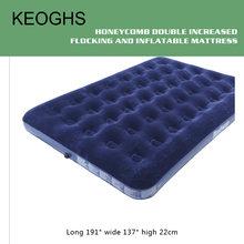 Надувной матрас для кемпинга переносная надувная кровать с газовым