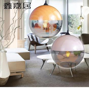 Sótão retro Vintage Bola De Vidro Luzes Pingente corda de Cânhamo Industrial E27 AC 110 V 220 V lâmpada para sala de Jantar Sala de Café Bar