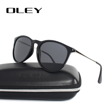 OLEY Cat Eye Sunglasses Women polarized Round Sun Glasses Brand designer Driver shades gafas de sol mujer zonnebril dames Y4171