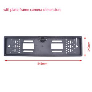 Image 3 - OTERLEEK WIFI License Plate Rear View Camera Wifi Back Up Camera for ipad  for iPhone Android and Car GPS