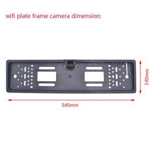 Image 3 - OTERLEEK WIFI רישיון צלחת אחורית מצלמה Wifi לגבות מצלמה עבור ipad עבור iPhone אנדרואיד רכב GPS