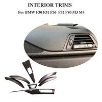 carbon Dashboard for BMW F30 F32 F36 320i 328d 328i 420i 428i 435i 440i2014 2018 car Interior Cover trim accessrories