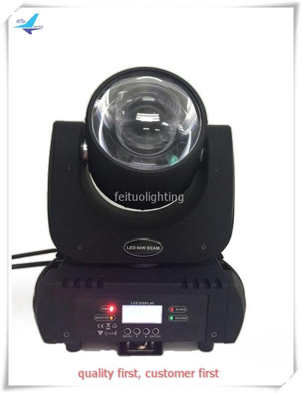 Mini beam moving head 60w led RGBWAP Lyre 60w led beam moving head DMX stage Lumiere disco party light