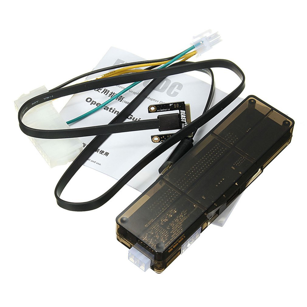 Professional V8.0 EXP GDC Beast Laptop External Independent Video Card Dock Mini PCI-E Graphics Card For Notebook