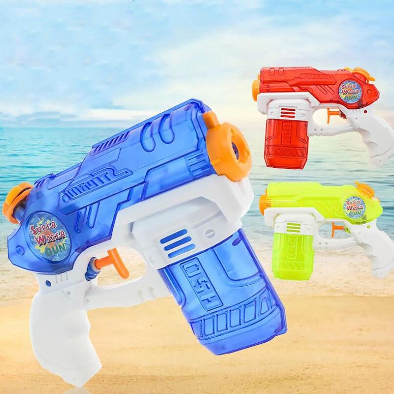 16CM Manual High Pressure Water Gun Medium Toy Boy Cool Summer Outdoor Play War Shooting Game Water Gun Children Toy Gift