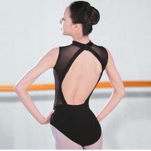 1 шт./лот женские балетки Танцы обучения Одежда для взрослых спинки Черный Балетки Танцы костюмы