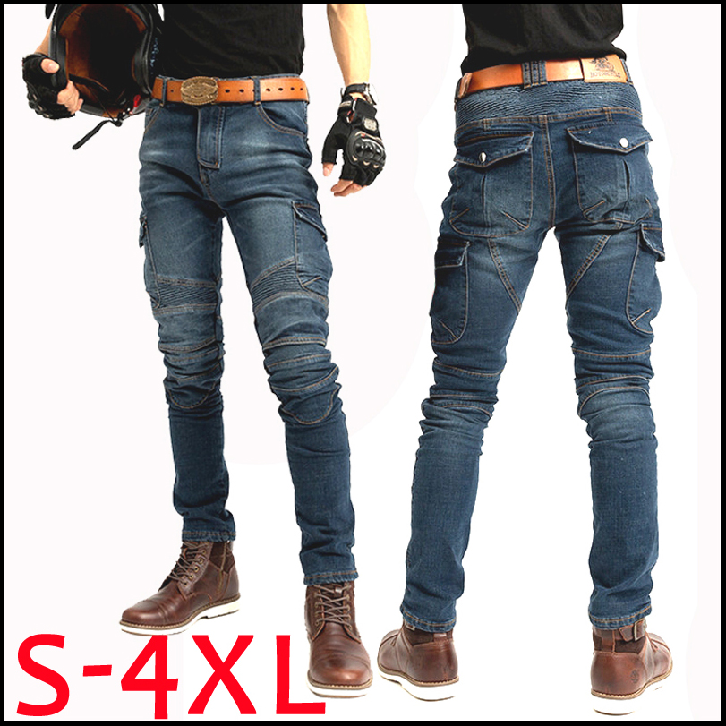 Motorcycle jeans 2018 Pantalones Motocicleta Hombre Featherbed Jeans The Standard Version Car Ride Trousers pant motorcycles