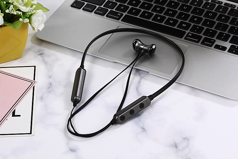 LCJCHDF G18 Stereo Wireless Bluetooth Sports Headset Support TF Card Music Play Outdoor Necking Earphone in Bluetooth Earphones Headphones from Consumer Electronics