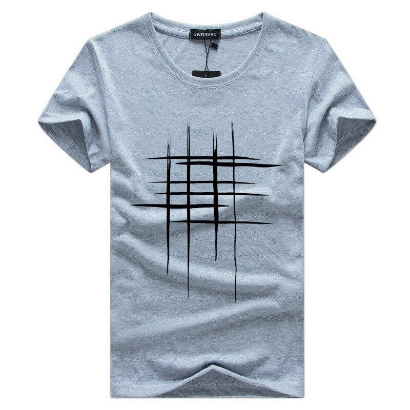 2019 Naujas laiškas Spausdinti marškinėliai Vyriški juodi ir - Vyriški drabužiai - Nuotrauka 2
