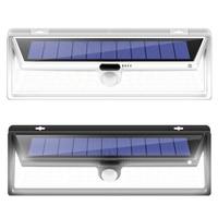 CHIZAO 90 LED Emergency Lamp for Back Yard Garage Garden Front door Outdoor Solar Wall Lights 3 Modes Waterproof Motion Sensor