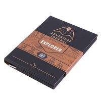 Đặc biệt Du Khách Mạo Hiểm Xô Danh Sách Scratch Bản Đồ Travel Book với Bản Đồ Danh Sách Hơn 300 Kinh Nghiệm Tạp Chí xô gấp