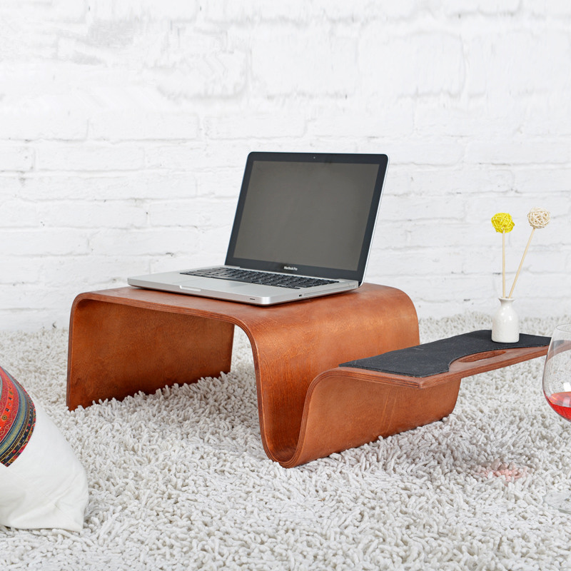 Mutifunctional Modern Bentwood Breakfast Magazine Table 3 Color Living Room Furniture Coffee Side End Table For Laptop, Computer odd ranks yield retro furniture living room coffee table corner a few color seattle bedroom nightstand h
