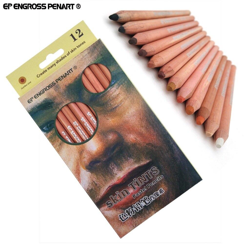 12pcs/tin marco raffine crayon graphite sketching pencils 9B 3H ...