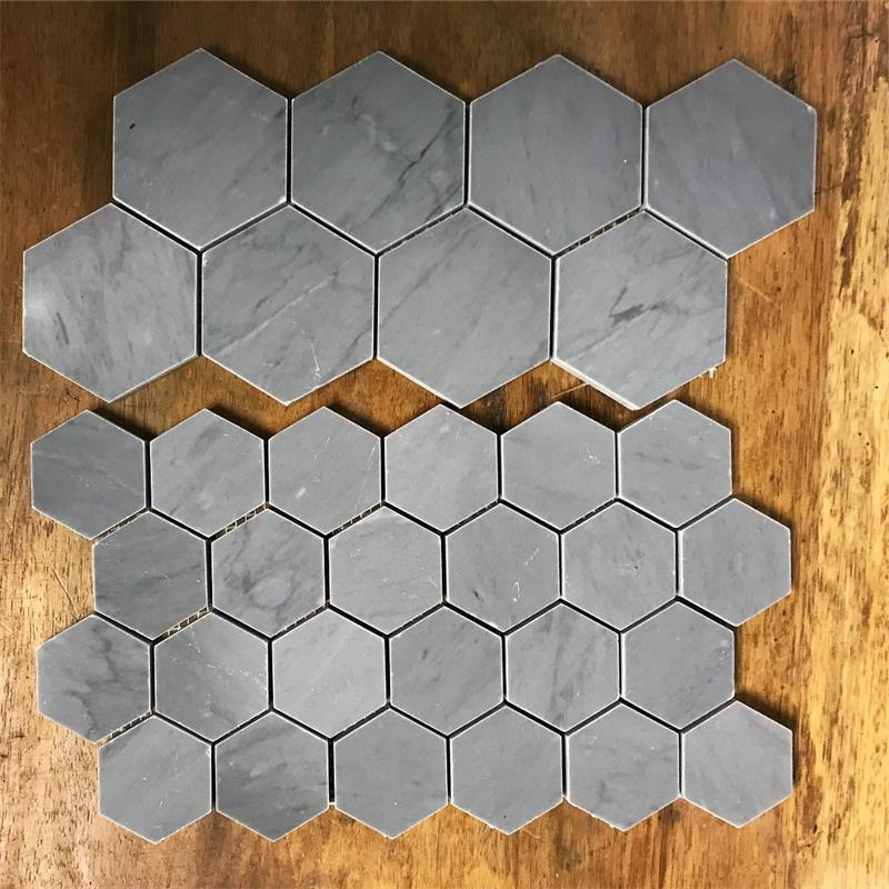 Hexagon Concrete Tiles Molds Silicone Cement Brick Wall Molds TV Background Tiles Mold