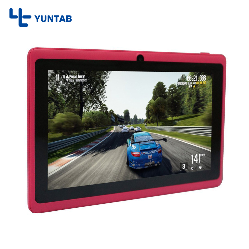 Yuntab 7inch T7 Android tablet PC Allwinner A33 Quad Core 512MB 8GB with Dual Camera 2200mAh