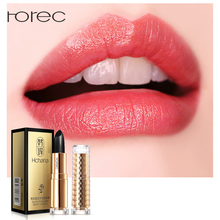 ROREC Black Rose Long Lasting Moisturizing Lipsticks Lips Skin Nourishing Moisturizer Temperature Change Care