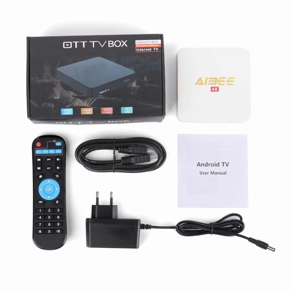 Aibee X9 mini Android 7,1 Smart tv Box 1 ГБ ОЗУ 8 Гб ПЗУ с 12 месяцев Novilka IP tv 500 + Live tv 700 VOD для испанско-португальский ip tv