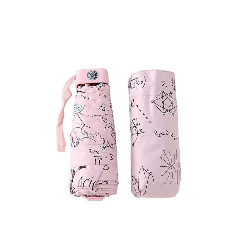 8db82113f3928 Pocket Umbrella Rain Woman Mini Umbrella Super Light Anti-UV Female Parasol  Fashion Small 5