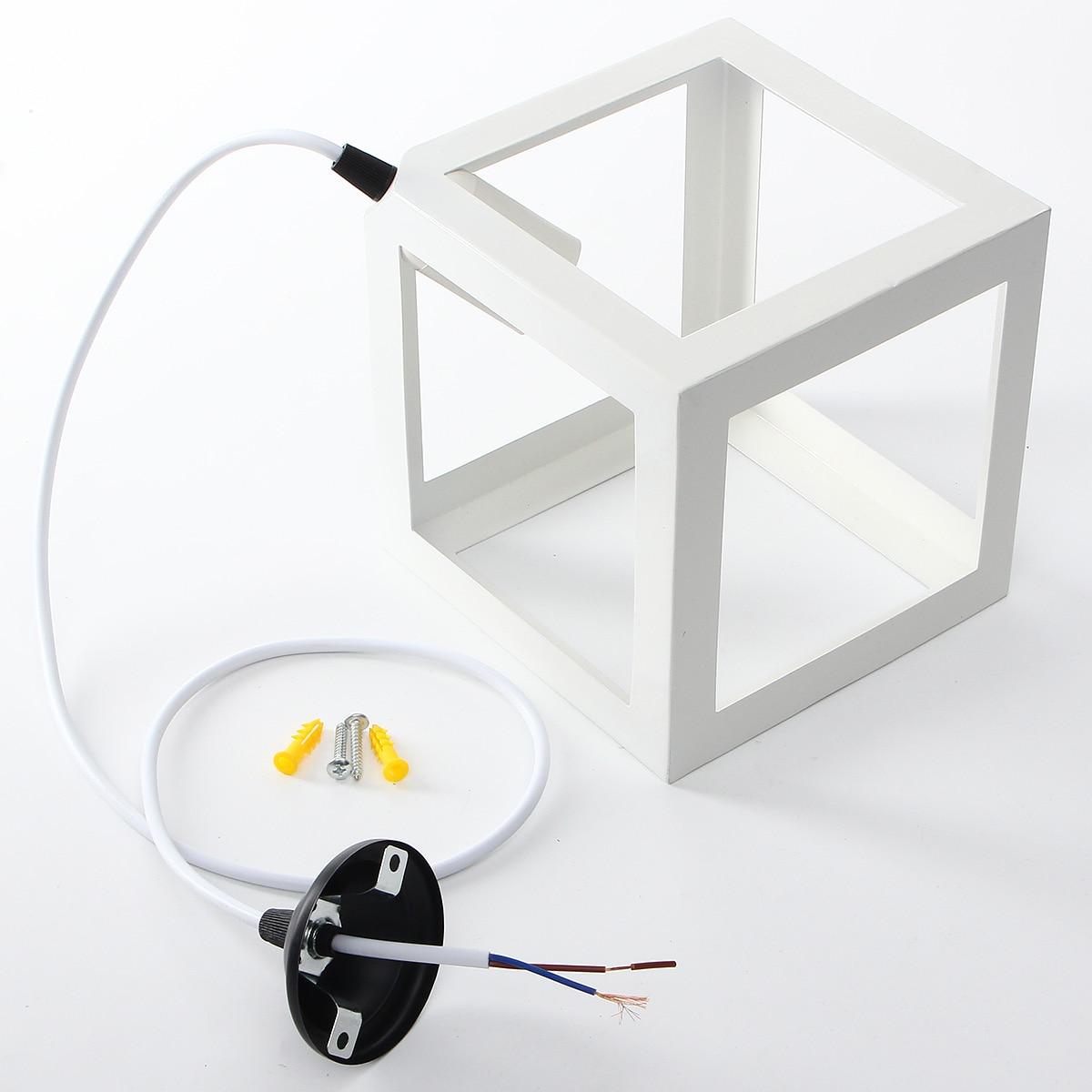 E27 Modern DIY Pendant Light Socket Shape Northern Euro