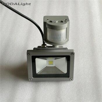 Sensor de movimiento Led iluminación exterior 10W lámpara de pared led autodoor...